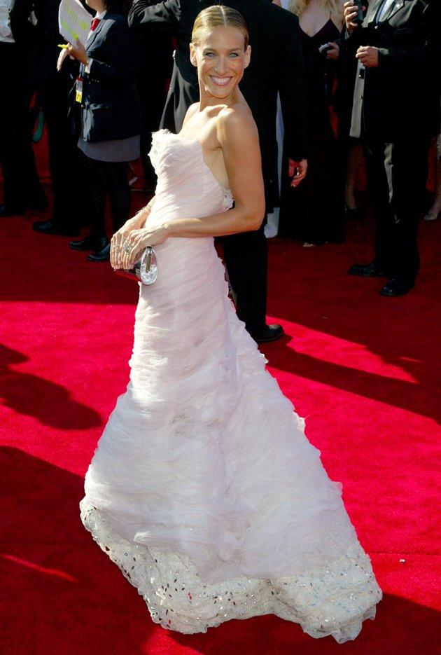 BEST: Sarah Jessica Parker at the 55th Annual Primetime Emmy Awards in Los Angeles, California on September 21, 2003.