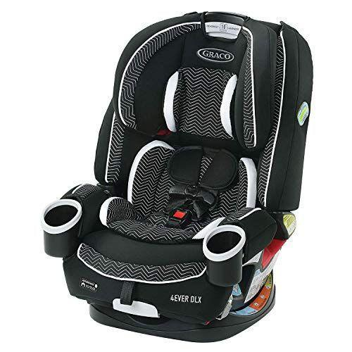 """<p><strong>Graco</strong></p><p>amazon.com</p><p><strong>$269.99</strong></p><p><a href=""""https://www.amazon.com/dp/B07J32CB1H?tag=syn-yahoo-20&ascsubtag=%5Bartid%7C10055.g.36283367%5Bsrc%7Cyahoo-us"""" rel=""""nofollow noopener"""" target=""""_blank"""" data-ylk=""""slk:Shop Now"""" class=""""link rapid-noclick-resp"""">Shop Now</a></p><p>This seat <strong>transitions from a rear-facing car seat, to forward-facing car seat, to high back booster, to backless booster</strong>, allowing your child to fully utilize the 10-year lifespan of the product. Our experts love that it installs easily with LATCH and is highly adjustable with a 10-position headrest, 6-position recline and a no-rethread harness. It also comes with two cup holders and machine-washable seat pads.<em><br></em></p>"""