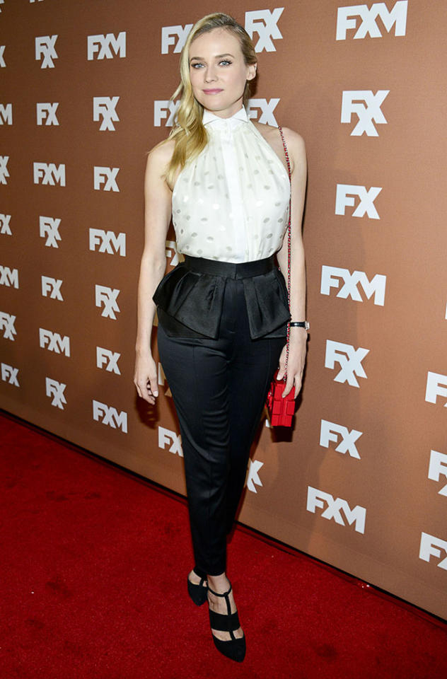 Diane Kruger attends the 2013 FX Upfront Bowling Event at Luxe at Lucky Strike Lanes on March 28, 2013 in New York City.