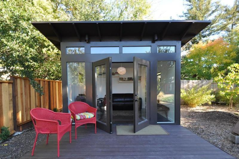 Backyard Shed is the New Office for Many as Pandemic Prolongs Work from Home Setup
