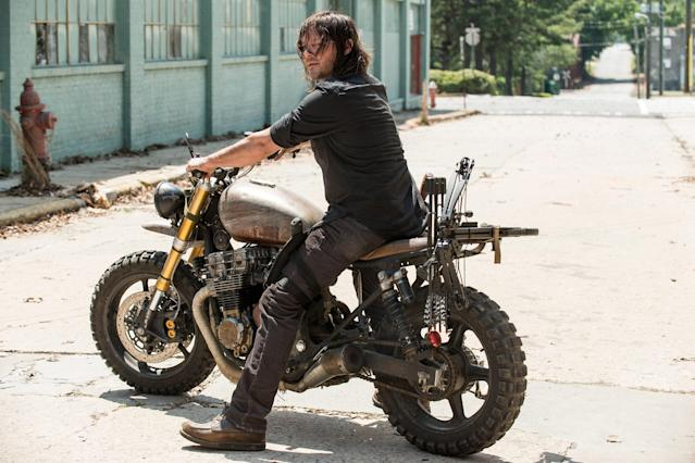 Norman Reedus as Daryl in 'The Walking Dead' (Photo: AMC)