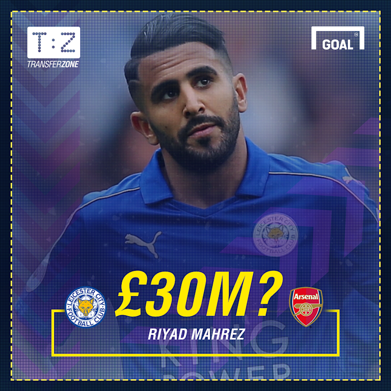 d4183c8be In-demand Mahrez set to lead Leicester summer departures