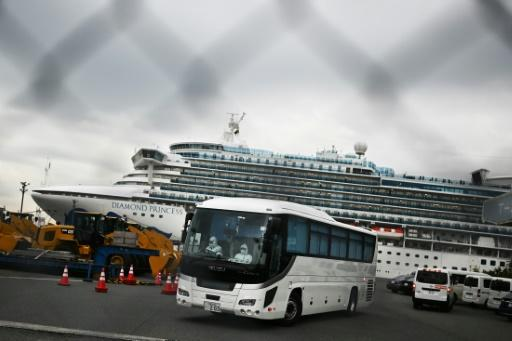 The biggest cluster of infections outside China is on a quarantined cruise ship off Japan