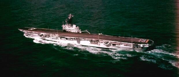 HMCS Bonaventure was Canada's last aircraft carrier and served from 1957 until 1970. She was scrapped 50 years ago in 1971. (Library and Archives Canada MIKAN No. 4821237 - image credit)