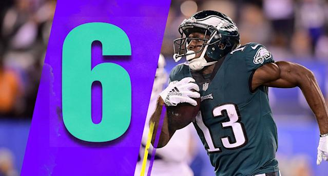 <p>The best thing going for the Eagles is that the rest of the NFC East isn't scary. Philadelphia looked last Thursday night like they're ready to make a run. (Nelson Agholor) </p>