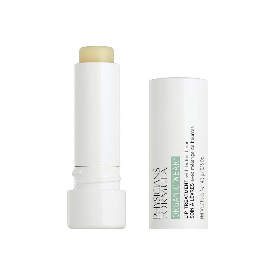 """Don't be deceived by how straightforward <a href=""""https://www.allure.com/gallery/best-tinted-lip-balm?mbid=synd_yahoo_rss"""" rel=""""nofollow noopener"""" target=""""_blank"""" data-ylk=""""slk:Physicians Formula Organic Wear Lip Treatment"""" class=""""link rapid-noclick-resp"""">Physicians Formula Organic Wear Lip Treatment</a> looks from the outside. This product earned a 2020 Best of Beauty Award, thanks to its powerful blend of hydrating ingredients, including shea butter, coconut oil, and jojoba oil, along with antioxidant-rich vitamin E, to protect thin lip skin from environmental damage. $7, Amazon. <a href=""""https://www.amazon.com/Physicians-Formula-Organic-Treatment-Flirt-Tawny/dp/B085M2TJX8/ref=sr_1_2?"""" rel=""""nofollow noopener"""" target=""""_blank"""" data-ylk=""""slk:Get it now!"""" class=""""link rapid-noclick-resp"""">Get it now!</a>"""