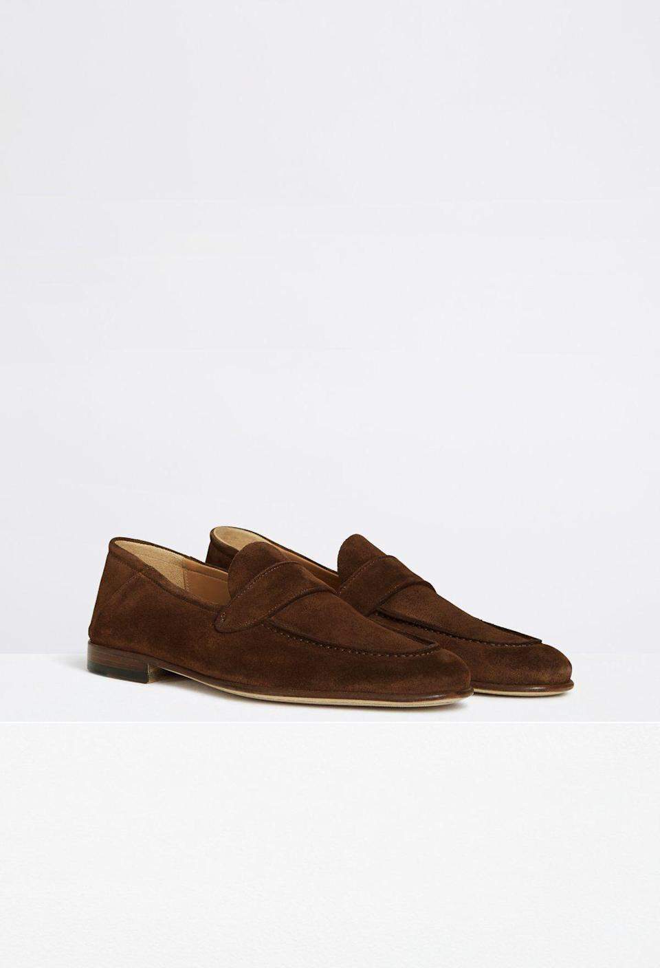 "<p><strong>Armando Cabral </strong></p><p>armando-cabral.com</p><p><strong>$190.00</strong></p><p><a href=""https://shop.armando-cabral.com/collections/loafers/products/morton-dark-brown"" rel=""nofollow noopener"" target=""_blank"" data-ylk=""slk:Shop Now"" class=""link rapid-noclick-resp"">Shop Now</a></p><p>Drawing upon his travels and modeling career, Armando Cabral produces sophisticated footwear for the modern man. </p>"