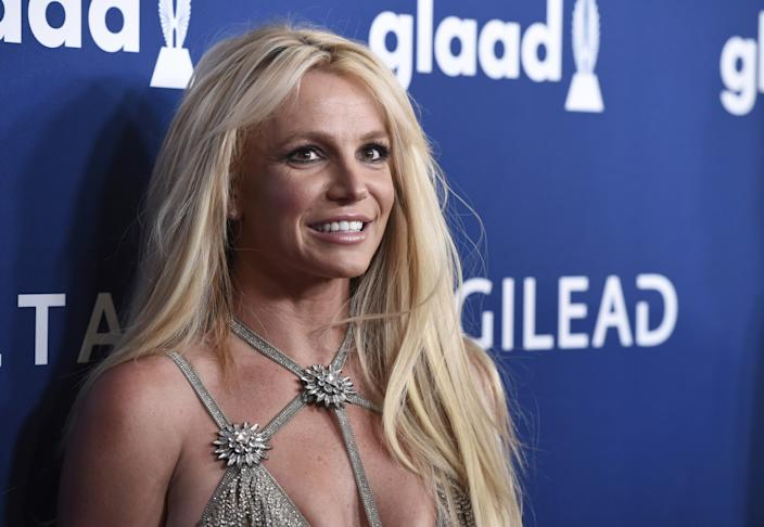 "Britney Spears in 2018. <span class=""copyright"">(Chris Pizzello / Invision)</span>"