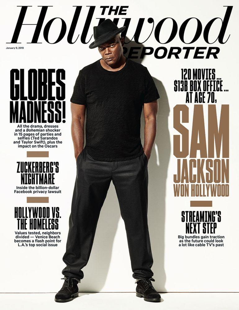 Samuel L. Jackson on the cover of The Hollywood Reporter