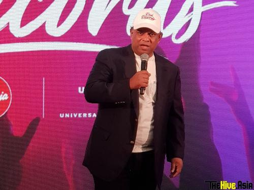 AirAsia Group CEO Tony Fernandes joked that his speech would be very long as it had been 18 years in the making.