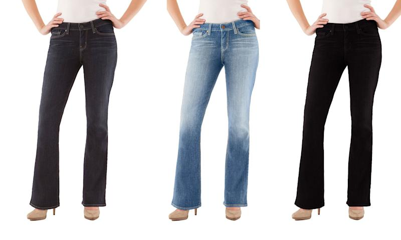 Walmart's best-selling jeans are Levi's Signature Women's Modern Bootcut Jeans and they're only $20 (Photo: Walmart)