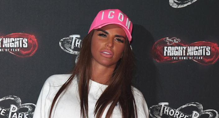 Katie Price has travelled to Turkey for cosmetic surgery that will be filmed for her reality show. (Getty Images)