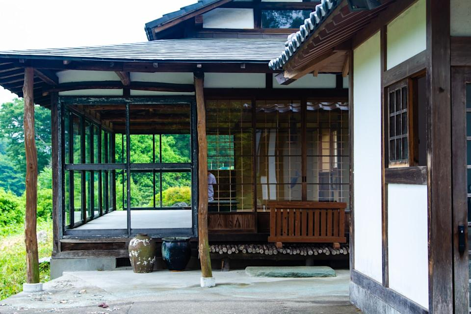 """Surrounded by trees, the Maruki Gallery about an hour north of Tokyo. <span class=""""copyright"""">(Ann Summa)</span>"""