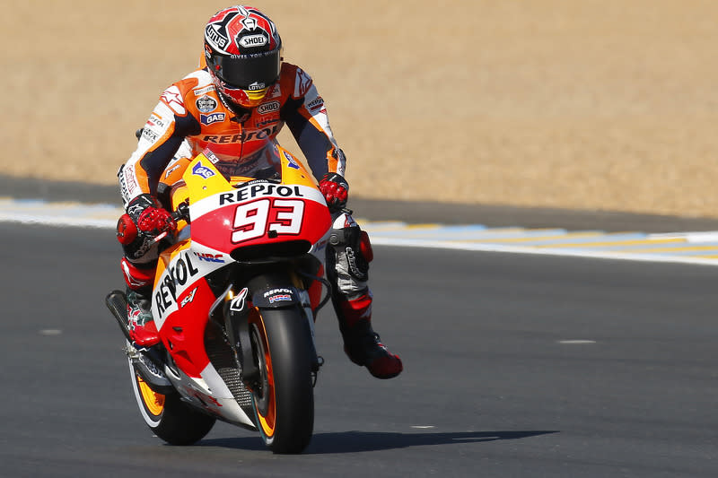 "2014: Marc Márquez, Repsol Honda Team<span class=""copyright"">Repsol Media</span>"