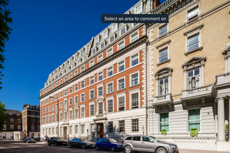 Grosvenor Square. Photo: Wetherell
