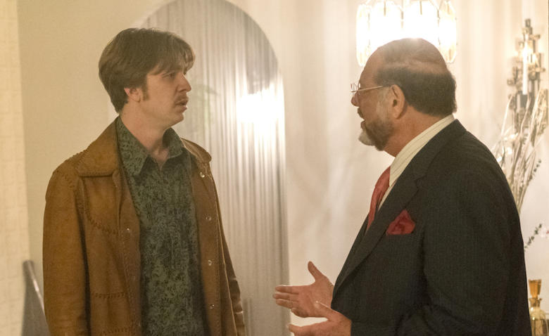 """FARGO -- """"The Law of Non‐ Contradiction"""" – Year 3, Episode 3 (Airs May 3, 10:00 pm e/p) Pictured (l-r): Thomas Mann as Thaddeus Mobley, Fred Melamed as Howard Zimmerman (55 Years). CR: Chris Large/FX"""