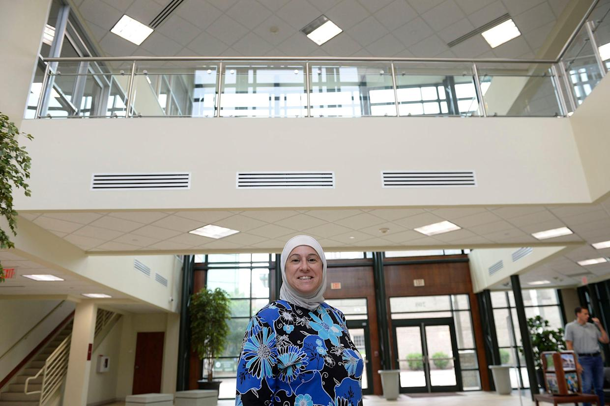 Samar Badwan, 45, is acting chair of the Human Relations Council in Greenville, N.C.