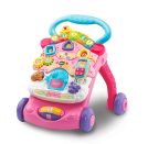 """<p>Watch your little one take their first steps with this 2-in-1 walker and activity centre by VTech! </p><a class=""""link rapid-noclick-resp"""" href=""""https://direct.asda.com/george/toys-character/kids-toys/electronic-educational-toys/vtech-first-steps-baby-walker-2018-pink/050475994,default,pd.html?cgid=D30M1G1C9"""" rel=""""nofollow noopener"""" target=""""_blank"""" data-ylk=""""slk:Shop now""""><br>Shop now</a>"""