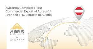 Avicanna Completes First Commercial Export of Aureus™ Branded THC Extracts to Austria