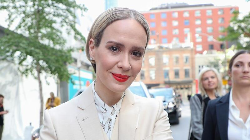 Sarah Paulson Dishes on Her 'Really Hard' Fitness Routine for 'The Goldfinch' Role (Exclusive)