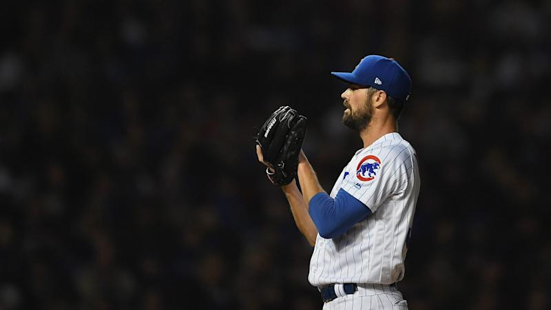 Chicago Cubs picking up option on Cole Hamels, trading Drew Smyly
