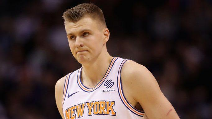 2363a2315cd4 Rumor  Did Porzingis want out of New York because he didn t want to ...
