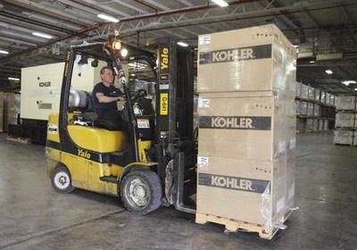 Kohler has been coordinating with local distributors of its power generation products to move generators, parts, and other emergency power equipment into Florida.