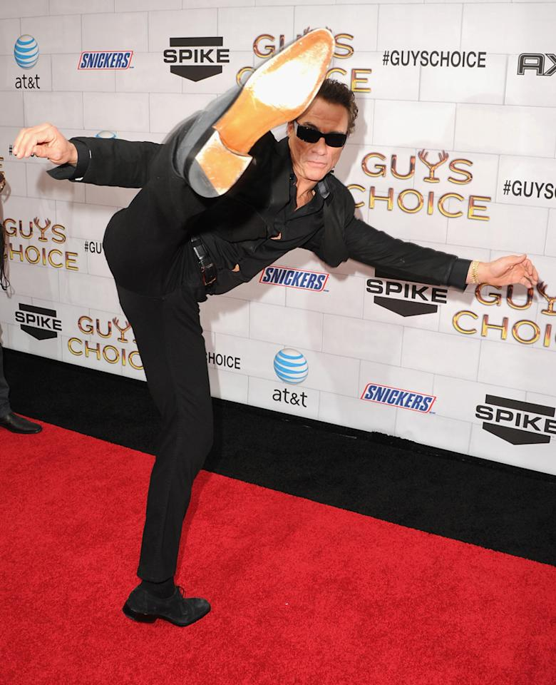 """Jean Claude Van Damme attends Spike TV's 6th Annual """"Guys Choice"""" Awards at Sony Studios on June 2, 2012 in Los Angeles, California."""