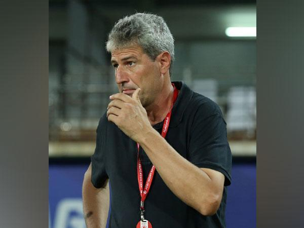 Hyderabad FC head coach Manuel Marquez (Photo/ISL)