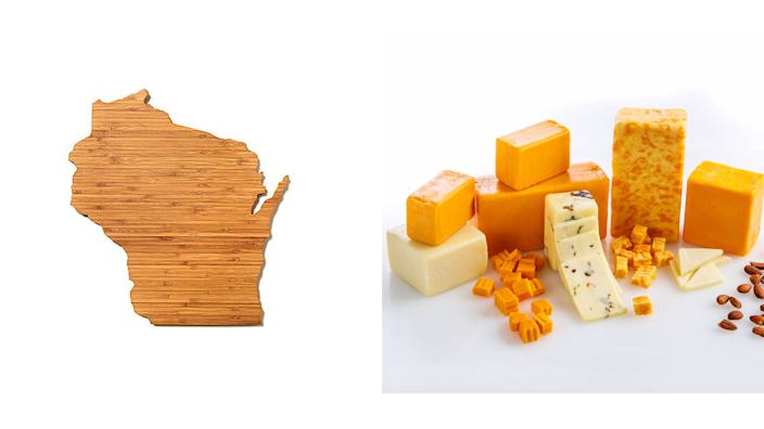 Milwaukee Journal Sentinel / Reviewed 2019 gift guide: Wisconsin cheese board and Renard's cheese