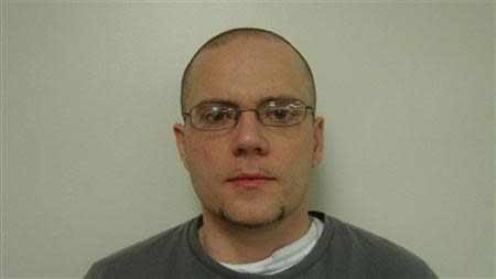 Jason Carter is pictured in this undated booking photo