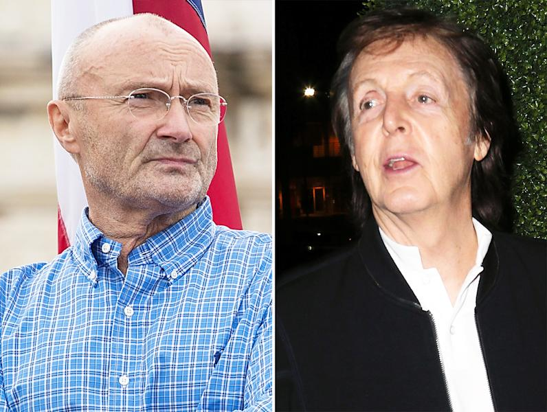 Phil Collins opened up in a new interview about his 14-year feud with the Beatles' Paul McCartney — see what he had to say