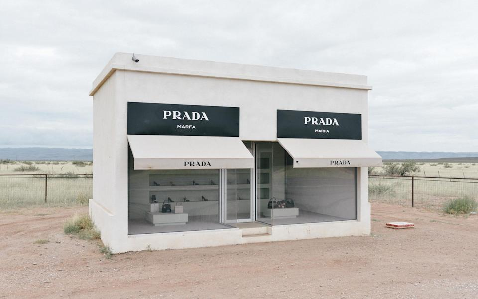 The famous Prada outpost in arty Marfa - Getty