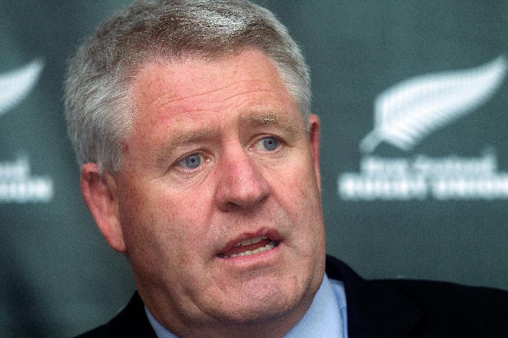 New Zealand rugby union CEO Steve Tew (AFP Photo/MARTY MELVILLE)