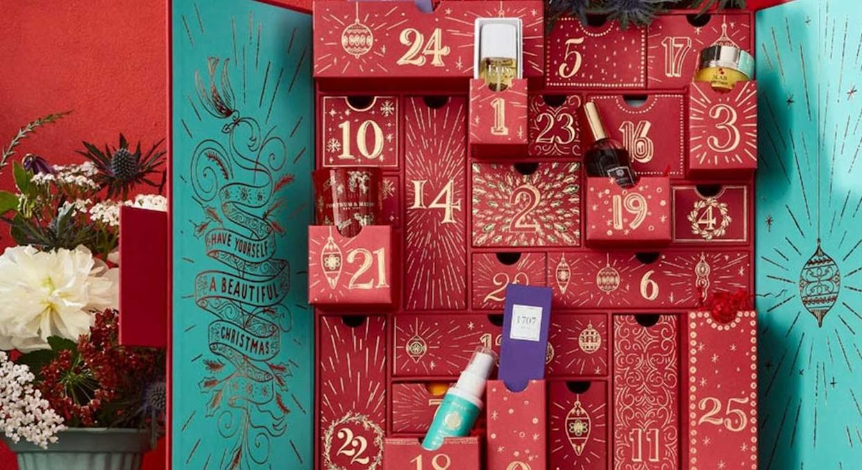 Fortnum & Mason has released two epic advent calendars for beauty buff and food lovers.  (Fortnum & Mason)