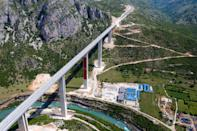 Chinese workers have spent six years carving tunnels through solid rock and raising concrete pillars above gorges and canyons in Montenegro, but the road in effect goes nowhere.
