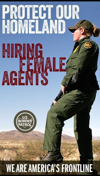 A female Border Patrol agent explains why the agency needs more women