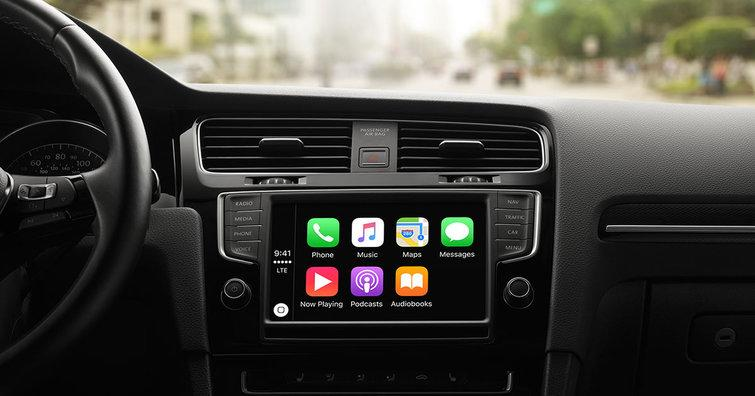 Apple's CarPlay. Credit: Apple
