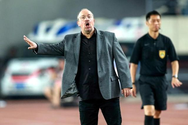 Benitez says he is enjoying life in northeast China (AFP Photo/STR)