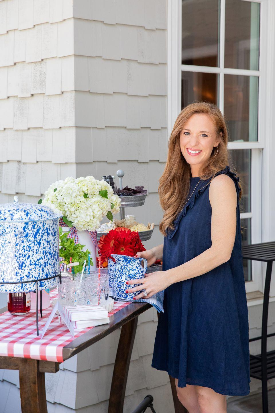 """<p>Katie Jacobs is a Nashville-based tastemaker and author of <em><a href=""""https://www.amazon.com/So-Much-Celebrate-Entertaining-Through/dp/0718075188?tag=syn-yahoo-20&ascsubtag=%5Bartid%7C10063.g.36916404%5Bsrc%7Cyahoo-us"""" rel=""""nofollow noopener"""" target=""""_blank"""" data-ylk=""""slk:So Much to Celebrate"""" class=""""link rapid-noclick-resp"""">So Much to Celebrate</a>. </em>She is also a stylist, photographer, graphic designer, and founder of <em><a href=""""https://stylingmyeveryday.com/about"""" rel=""""nofollow noopener"""" target=""""_blank"""" data-ylk=""""slk:Styling My Everyday"""" class=""""link rapid-noclick-resp"""">Styling My Everyday</a>, </em>a popular lifestyle blog. (Follow her at <a href=""""https://www.instagram.com/katiejacobsnashville/?hl=en"""" rel=""""nofollow noopener"""" target=""""_blank"""" data-ylk=""""slk:@katiejacobsnashville"""" class=""""link rapid-noclick-resp"""">@katiejacobsnashville</a>)</p>"""