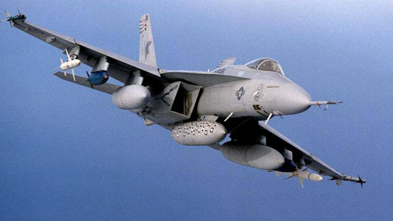 US pilot ejects from jet approaching carrier headed for Korean peninsula