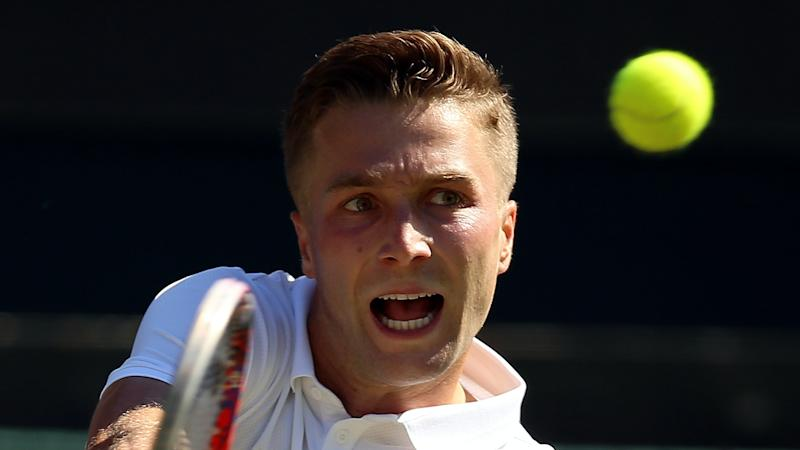 Liam Broady beaten by Jiri Vesely in French Open first round