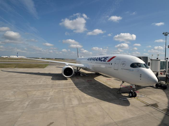 An Air France Airbus A350-900 XWB.