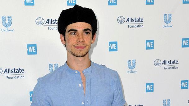 PHOTO: Cameron Boyce arrives at WE Day California at The Forum in Inglewood, Calif., April 25, 2019. (Richard Shotwell/Invision/AP, FILE)