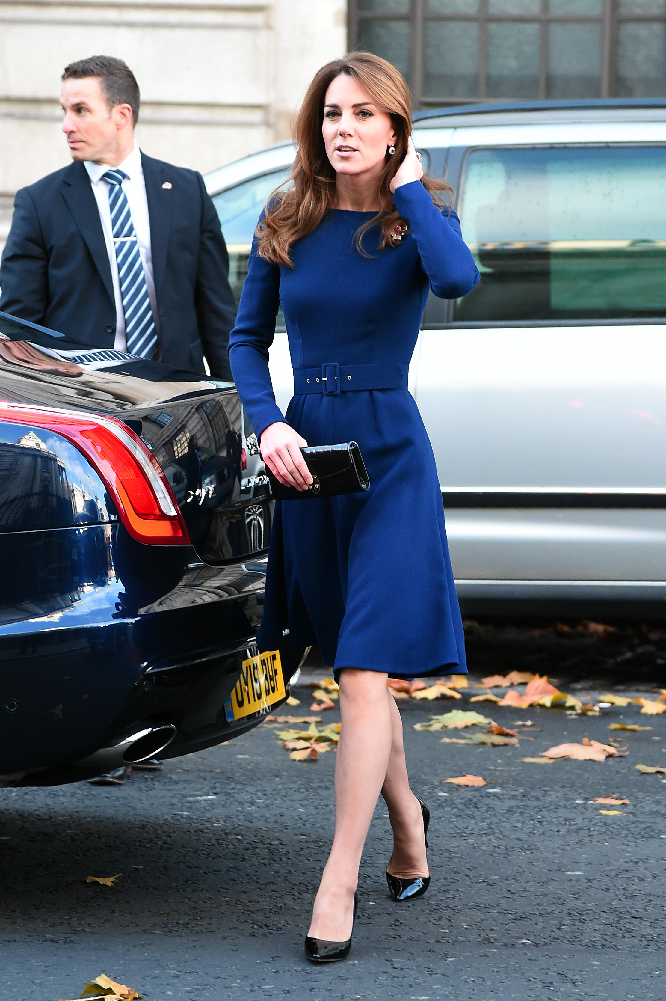 The Duchess of Cambridge attended the launch of the National Emergencies Trust at St Martin-in-the-Fields. [Photo: Getty]