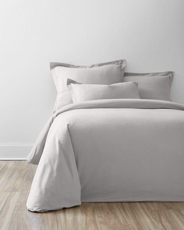"""<p><strong>Garnet Hill</strong></p><p>garnethill.com</p><p><strong>$44.00</strong></p><p><a href=""""https://www.garnethill.com/garnet-hill-signature-flannel-bedding/bedding-home/duvet-comforter-covers/flannel-duvet-comforter-covers/131926"""" rel=""""nofollow noopener"""" target=""""_blank"""" data-ylk=""""slk:Shop Now"""" class=""""link rapid-noclick-resp"""">Shop Now</a></p><p>Flannel is a great option once the temperature drops. Decked out with an OEKO-TEK certification, <a href=""""https://www.garnethill.com/"""" rel=""""nofollow noopener"""" target=""""_blank"""" data-ylk=""""slk:Garnet Hill's flannel bedding"""" class=""""link rapid-noclick-resp"""">Garnet Hill's flannel bedding</a> is designed with sweet dreams in mind. Each side is brushed multiple times to achieve an ultrasoft texture that will make you want to hit the snooze button a few times. Naturally, there's more to this option than a great touch. The duvet cover features four internal ties to keep your comforter in place as you catch some z's. Available in eight versatile colors, you can bring your own style to this pick.</p>"""