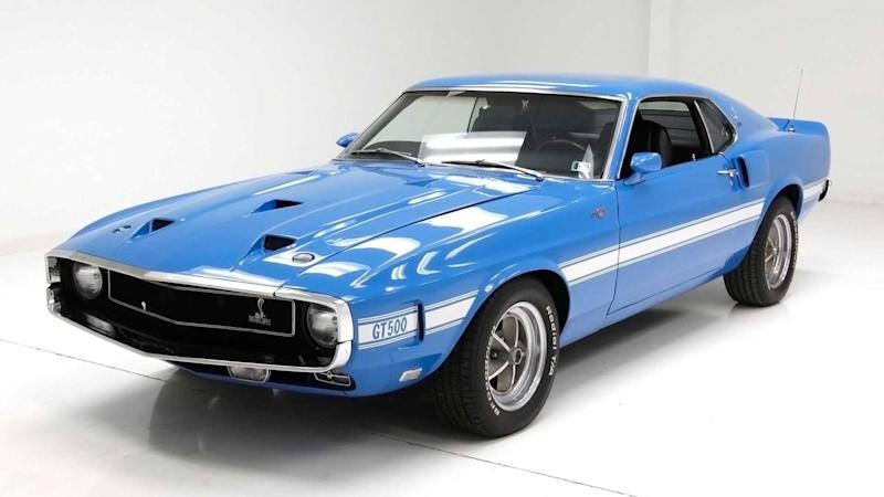 Own A Fully Restored Numbers-Matching 1969 Shelby GT500