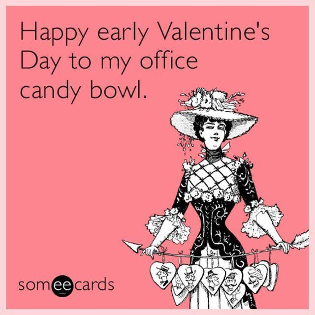 """<p>Because the best part about Valentine's Day in the office is obviously the free candy bowl.</p><p><strong>RELATED: </strong><a href=""""https://www.goodhousekeeping.com/holidays/valentines-day-ideas/g1409/best-valentines-day-chocolates/"""" rel=""""nofollow noopener"""" target=""""_blank"""" data-ylk=""""slk:45 Best Valentine's Day Chocolates and Candy to Buy for Your Loved Ones"""" class=""""link rapid-noclick-resp"""">45 Best Valentine's Day Chocolates and Candy to Buy for Your Loved Ones</a></p><p><a href=""""https://www.instagram.com/p/BtygB0iA4O7/"""" rel=""""nofollow noopener"""" target=""""_blank"""" data-ylk=""""slk:See the original post on Instagram"""" class=""""link rapid-noclick-resp"""">See the original post on Instagram</a></p>"""
