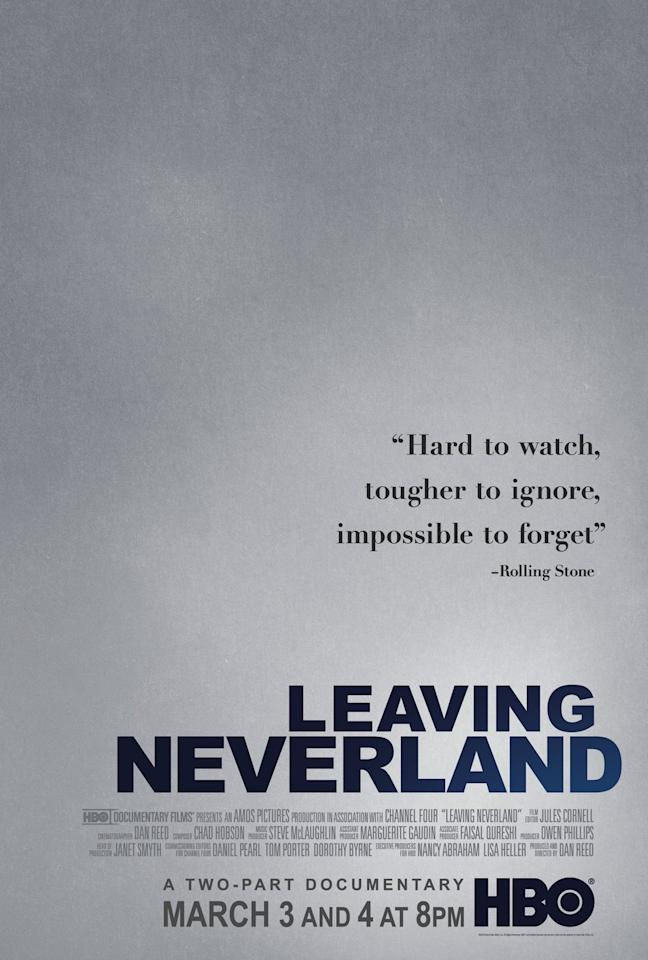 """<p>The two-part documentary <em>Leaving Neverland</em> took the world by storm in March 2019. In the film, director Dan Reed uncovers the stories of two boys and their families who had a long-running relationship with pop star Michael Jackson. Those involved allege he sexually abused the boys, and Reed uses the film's platform to share their side of the story.</p><p><a class=""""body-btn-link"""" href=""""https://www.hbo.com/documentaries/leaving-neverland?pid=googleadwords_int&c=Google%7CSearch%7CMKL%7CIQ_ID_-VQ16-c&camp=Google%7CSearch%7CMKL%7CIQ_ID_-VQ16-c&gclid=EAIaIQobChMI8ZSnl6-r4wIVmZOzCh3ZvgzxEAAYAiAAEgLoWfD_BwE&gclsrc=aw.ds"""" target=""""_blank"""">Watch Now</a></p>"""