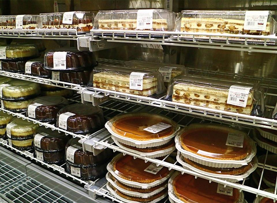 pies at costco bakery